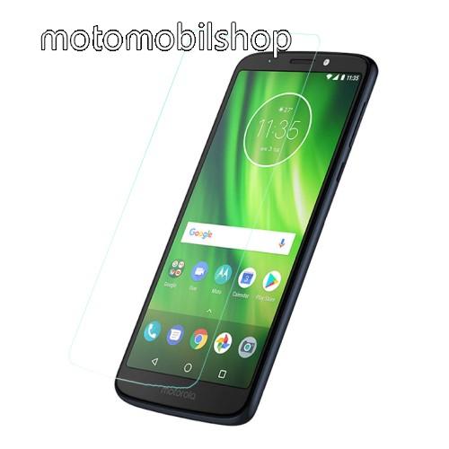Előlap védő karcálló edzett üveg - 0,3 mm vékony, 9H, Arc Edge, A képernyő sík részét védi - MOTOROLA Moto E5 / MOTOROLA Moto G6 Play