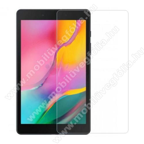 Előlap védő karcálló edzett üveg - 0,3 mm vékony, 9H, Arc Edge, A képernyő sík részét védi - SAMSUNG SM-T295 Galaxy Tab A 8.0 LTE (2019) / SAMSUNG SM-T290 Galaxy Tab A 8.0 Wi-Fi (2019)