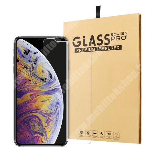 APPLE iPhone Xr Előlap védő karcálló edzett üveg - 0,3 mm vékony, 9H, Arc Edge, A képernyő sík részét védi - APPLE iPhone 11 / APPLE iPhone Xr