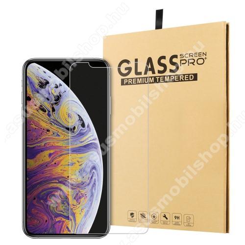 Előlap védő karcálló edzett üveg - 0,3 mm vékony, 9H, Arc Edge, A képernyő sík részét védi - APPLE iPhone 11 / APPLE iPhone Xr