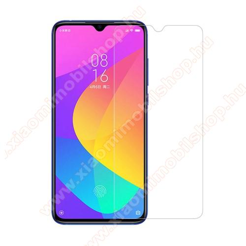 Xiaomi Mi CC9Előlap védő karcálló edzett üveg - 0,3 mm vékony, 9H, Arc Edge, A képernyő sík részét védi - Xiaomi Mi CC9 / Xiaomi Mi 9 Lite