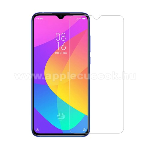 Előlap védő karcálló edzett üveg - 0,3 mm vékony, 9H, Arc Edge, A képernyő sík részét védi - Xiaomi Mi CC9 / Xiaomi Mi 9 Lite