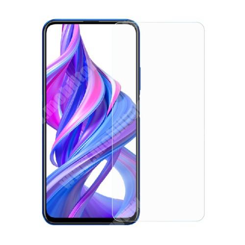 HUAWEI Honor 9X (For China market) Előlap védő karcálló edzett üveg - 0,3 mm vékony, 9H, Arc Edge, A képernyő sík részét védi - HUAWEI Honor 9X / HUAWEI Honor 9X (For China market) / HUAWEI Honor 9X Pro (For China market)