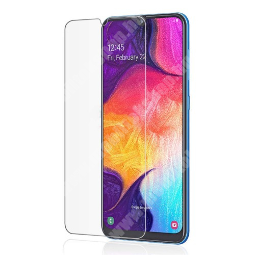 SAMSUNG Galaxy A10e (SM-A102U) Előlap védő karcálló edzett üveg - 0,3 mm vékony, 9H, Arc Edge, A képernyő sík részét védi - SAMSUNG Galaxy A10e (SM-A102U)