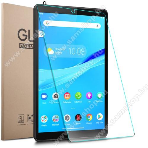 Előlap védő karcálló edzett üveg - 0,3 mm vékony, 9H, Arc Edge, A képernyő sík részét védi - Lenovo Tab M8 (HD) / Lenovo Tab M8 (FHD)