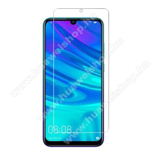 HUAWEI P smart (2020)Előlap védő karcálló edzett üveg - 0,3 mm vékony, 9H, Arc Edge, A képernyő sík részét védi - HUAWEI P smart (2020)