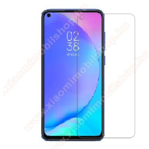 Előlap védő karcálló edzett üveg - 0,3 mm vékony, 9H, Arc Edge, A képernyő sík részét védi - Xiaomi Redmi Note 9 / Xiaomi Redmi 10X 4G