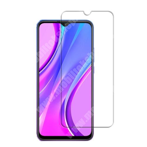 Előlap védő karcálló edzett üveg - 0,3 mm vékony, 9H, Arc Edge, A képernyő sík részét védi - Xiaomi Redmi 9 / Xiaomi Redmi 9 Prime