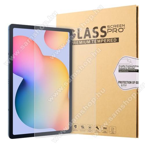 SAMSUNG Galaxy Tab S7 (SM-T870/T875/T876B)Előlap védő karcálló edzett üveg - 0,3 mm vékony, 9H, Arc Edge, A képernyő sík részét védi - SAMSUNG Galaxy Tab S7 (SM-T870/T875/T876B)