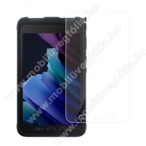 Előlap védő karcálló edzett üveg - 0,3 mm vékony, 9H, Arc Edge, A képernyő sík részét védi - SAMSUNG Galaxy Tab Active3 (SM-T575)