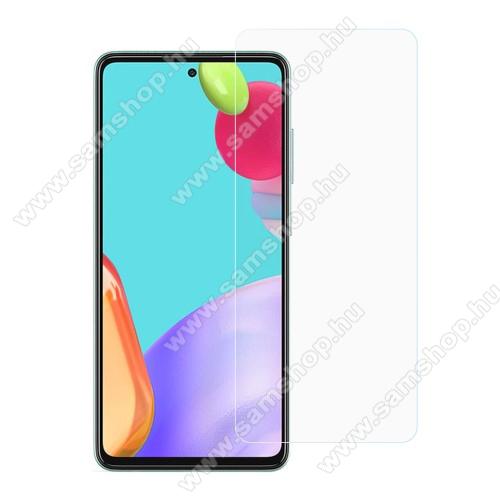 SAMSUNG Galaxy A52 4G (SM-A525F)Előlap védő karcálló edzett üveg - 0,3 mm vékony, 9H, Arc Edge, A képernyő sík részét védi - SAMSUNG Galaxy A52 5G (SM-A526F) / Galaxy A52 4G (SM-A525F)