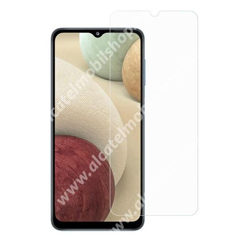 Előlap védő karcálló edzett üveg - 0,3 mm vékony, 9H, Arc Edge, A képernyő sík részét védi! - SAMSUNG Galaxy A32 5G (SM-A326B) / SAMSUNG Galaxy A12 (SM-A125F)