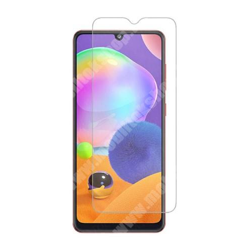 Előlap védő karcálló edzett üveg - 0,3 mm vékony, 9H, Arc Edge, A képernyő sík részét védi! - SAMSUNG SM-A326 Galaxy A32 5G