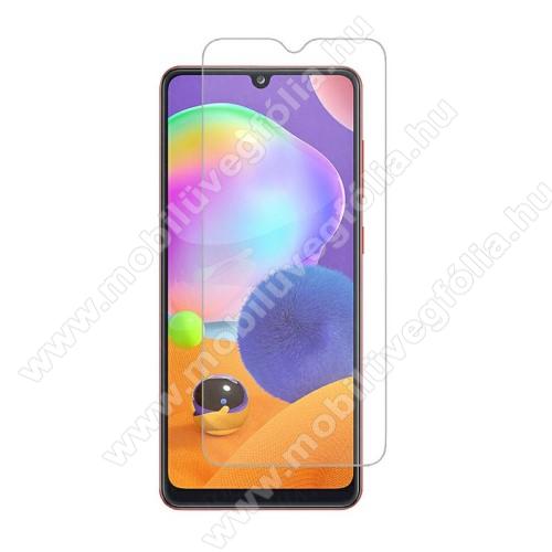 Előlap védő karcálló edzett üveg - 0,3 mm vékony, 9H, Arc Edge, A képernyő sík részét védi! - SAMSUNG SM-A326 Galaxy A32 5G / SAMSUNG Galaxy A12 (SM-A125F)