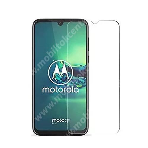 Előlap védő karcálló edzett üveg - 0,3 mm vékony, 9H, Arc Edge, A képernyő sík részét védi - MOTOROLA Moto E7