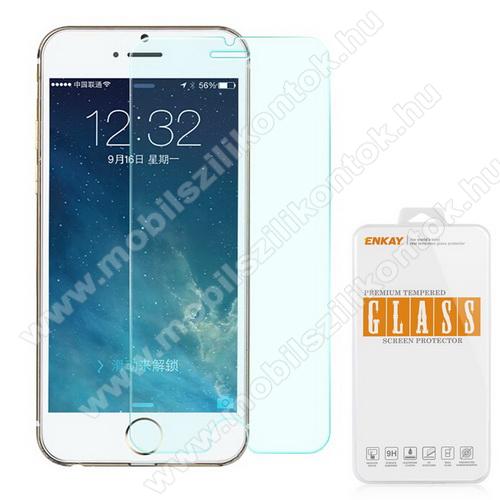 Előlap védő karcálló edzett üveg - 0,3 mm vékony, 9H, A képernyő sík részét védi - APPLE iPhone SE (2020) / APPLE iPhone 7 / APPLE iPhone 8 / APPLE iPhone 6 / APPLE iPhone 6S