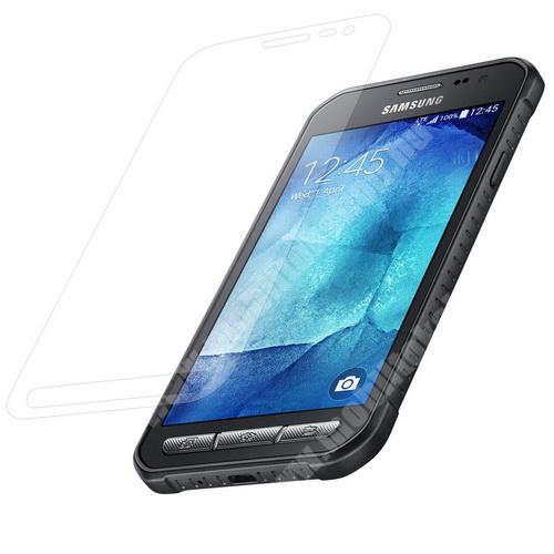 Előlap védő karcálló edzett üveg - 0,3 mm vékony, 9H, Arc Edge - SAMSUNG SM-G388F Galaxy Xcover 3