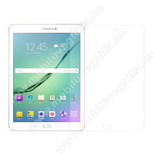 Előlap védő karcálló edzett üveg - 0,3 mm vékony, 9H, Arc Edge, A képernyő sík részét védi - SAMSUNG SM-T810 / SM-T815 Galaxy Tab S2 9.7