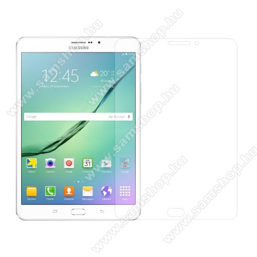 SAMSUNG Galaxy Tab S2 8.0 (SM-T710 / SM-T715)Előlap védő karcálló edzett üveg - 0,3 mm vékony, 9H, Arc Edge, A képernyő sík részét védi - SAMSUNG T710 / T715 Galaxy Tab S2 8.0