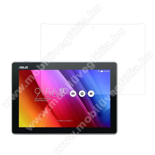 Előlap védő karcálló edzett üveg - 0,3 mm vékony, 9H, Arc Edge, A képernyő sík részét védi - ASUS ZenPad 10 (Z300C / Z300CL / Z300CG)