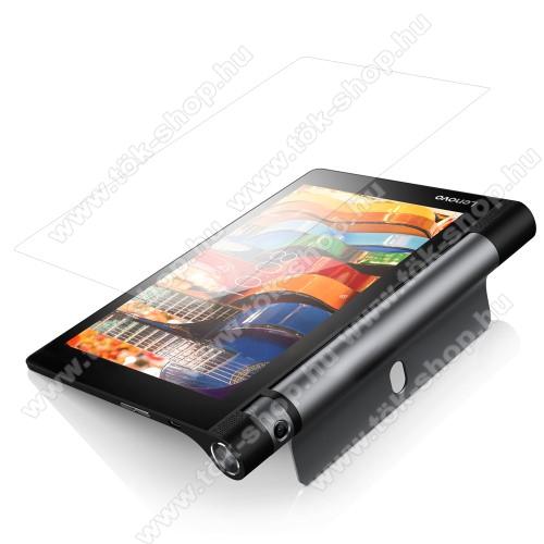 Előlap védő karcálló edzett üveg - 0,3 mm, 9H - Arc Edge, A képernyő sík részét védi - Lenovo Yoga Tab 3 8.0