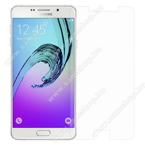 Előlap védő karcálló edzett üveg - 0,3 mm vékony, 9H, Arc Edge, A képernyő sík részét védi - SAMSUNG SM-A710F Galaxy A7 (2016)