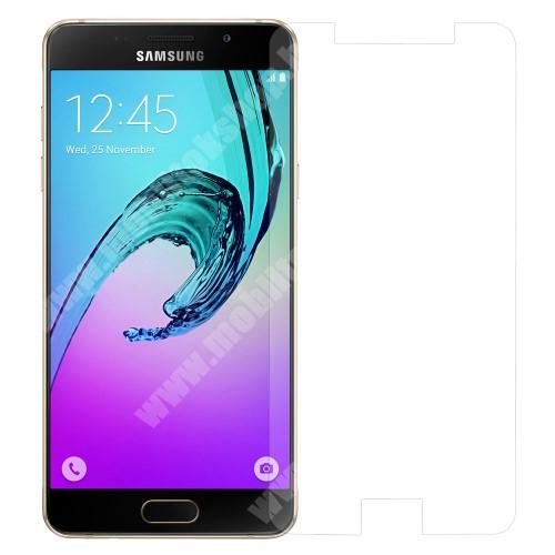 Előlap védő karcálló edzett üveg - 0,3 mm vékony, 9H, Arc Edge - SAMSUNG SM-A510F Galaxy A5 (2016)