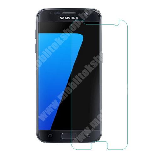 Előlap védő karcálló edzett üveg - 0,3 mm vékony, 9H, Arc Edge - SAMSUNG SM-G930 Galaxy S7