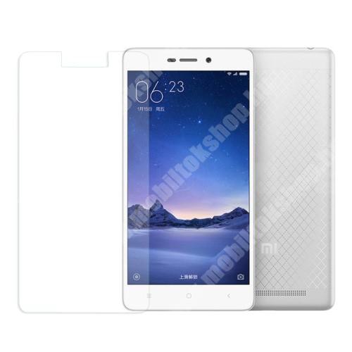 Xiaomi Redmi 3 Előlap védő karcálló edzett üveg - 0,3 mm vékony, 9H, Arc Edge - XIAOMI Redmi 3 / Redmi 3 Pro / Xiaomi Redmi 3s / Redmi 3s Prime / Redmi 3x