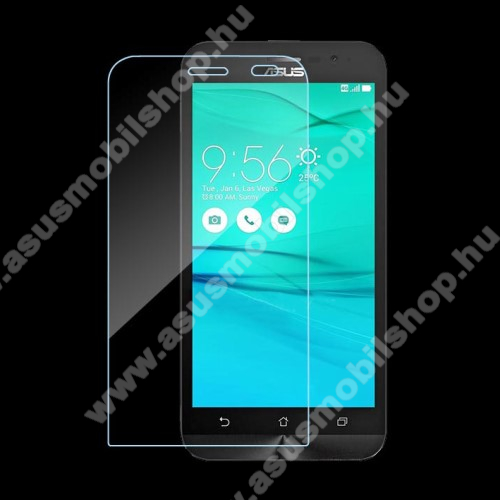 ASUS ZenFone Go (ZB500KG)Előlap védő karcálló edzett üveg - 0,3 mm vékony, 9H, Arc Edge - ASUS ZenFone Go (ZB500KL) / ASUS ZenFone Go (ZB500KG)