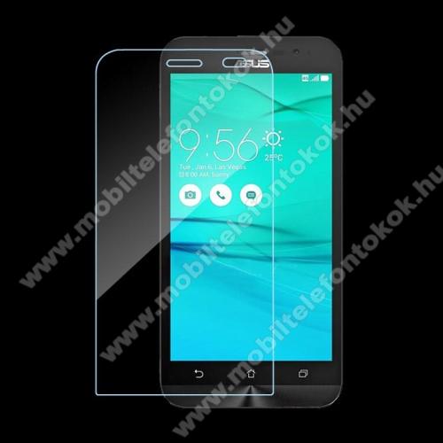 Előlap védő karcálló edzett üveg - 0,3 mm vékony, 9H, Arc Edge - ASUS ZenFone Go (ZB500KL) / ASUS ZenFone Go (ZB500KG)