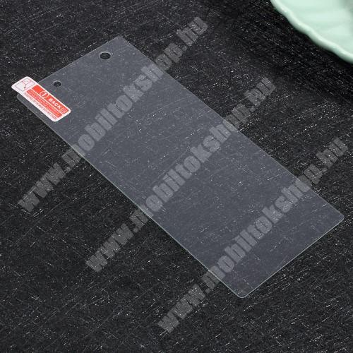 Előlap védő karcálló edzett üveg - 0,3 mm vékony, 9H, Arc Edge - Sony Xperia XA1