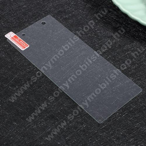 Sony Xperia XA1Előlap védő karcálló edzett üveg - 0,3 mm vékony, 9H, Arc Edge, A képernyő sík részét védi - Sony Xperia XA1