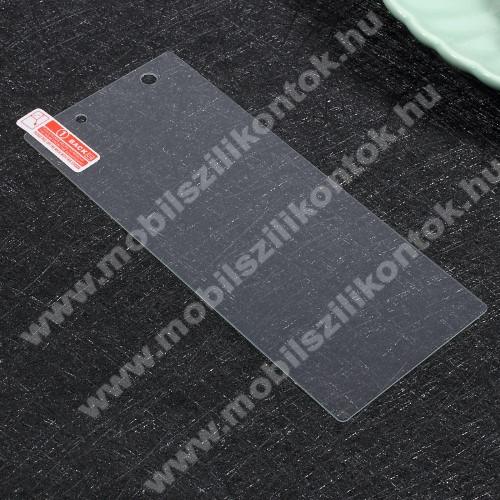 Előlap védő karcálló edzett üveg - 0,3 mm vékony, 9H, Arc Edge, A képernyő sík részét védi - Sony Xperia XA1