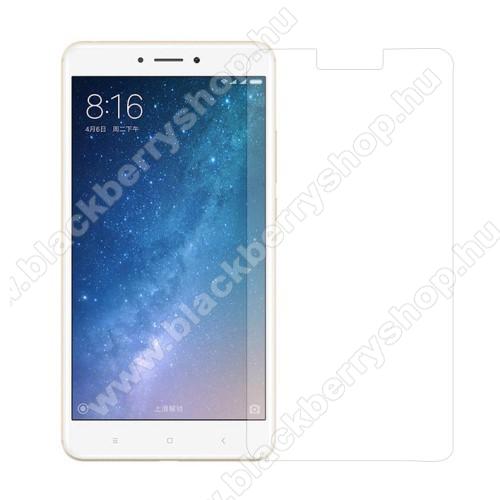 Előlap védő karcálló edzett üveg - 0,3 mm vékony, 9H, Arc Edge - Xiaomi Mi MAX 2