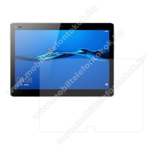 Előlap védő karcálló edzett üveg - 0,3 mm vékony, 9H, Arc Edge - HUAWEI MediaPad M3 Lite 10