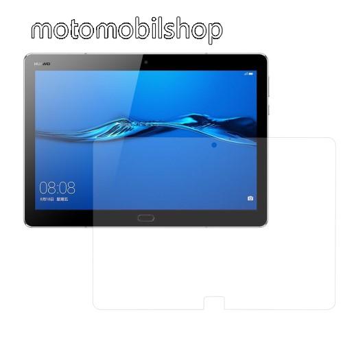 Előlap védő karcálló edzett üveg - 0,3 mm vékony, 9H, Arc Edge, A képernyő sík részét védi - HUAWEI MediaPad M3 Lite 10