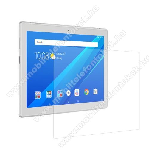 Előlap védő karcálló edzett üveg - 0,3 mm vékony, 9H, Arc Edge - Lenovo Tab 4 10 Plus
