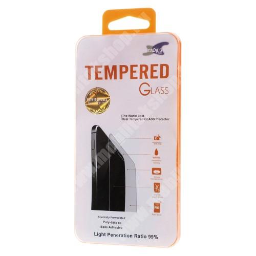 Előlap védő karcálló edzett üveg - 0,3 mm vékony, 9H, Arc Edge - SAMSUNG Galaxy S8 Active