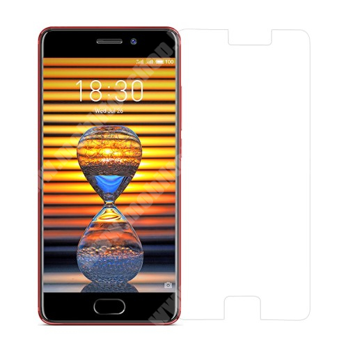 Meizu Pro 7 Előlap védő karcálló edzett üveg - 0,3 mm vékony, 9H, Arc Edge - MEIZU Pro 7