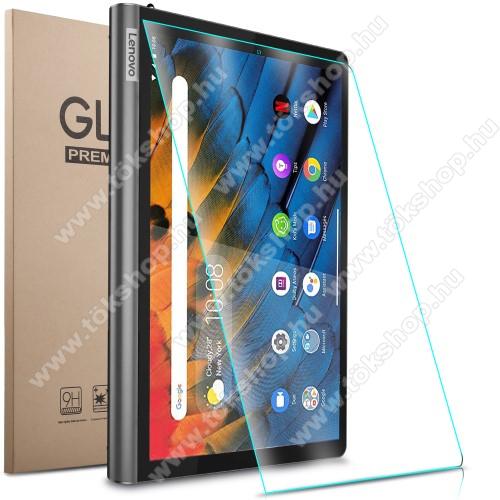 Előlap védő karcálló edzett üveg - 0,3mm vékony, 9H, Arc Edge, A képernyő sík részét védi - Lenovo Yoga Smart Tab 10.1 (YT-X705)