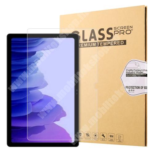 Előlap védő karcálló edzett üveg - 0,3mm vékony, 9H, Arc Edge, A képernyő sík részét védi - SAMSUNG Galaxy Tab A7 10.4 (2020) (SM-T500/SM-T505)