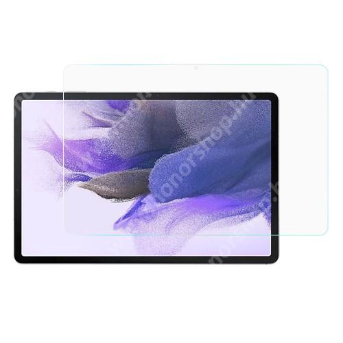 Előlap védő karcálló edzett üveg - 0,3mm vékony, 9H, Arc Edge, A képernyő sík részét védi - SAMSUNG Galaxy Tab S7 FE (SM-T730) / Galaxy Tab S7 FE 5G (SM-T736)