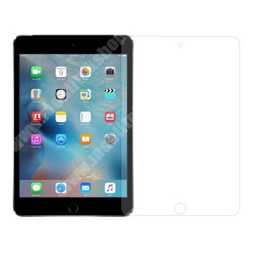 APPLE iPad Mini 4 Előlap védő karcálló edzett üveg - 0,3mm, 9H, Arc Edge - APPLE iPad mini 4
