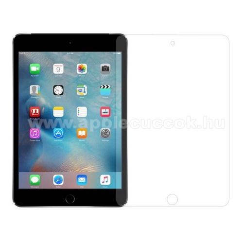 Előlap védő karcálló edzett üveg - 0,3mm, 9H, Arc Edge, A képernyő sík részét védi - APPLE iPad Mini 4 / APPLE iPad mini (2019)
