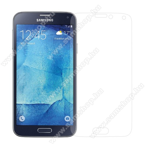 Előlap védő karcálló edzett üveg - 0,3mm, 9H, Arc Edge - SAMSUNG SM-G903F Galaxy S5 Neo