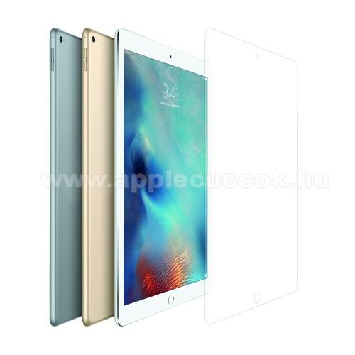 APPLE iPad Pro 12.9Előlap védő karcálló edzett üveg - 0.3mm vékony!, 9H, Arc Edge, A képernyő sík részét védi - APPLE iPad Pro