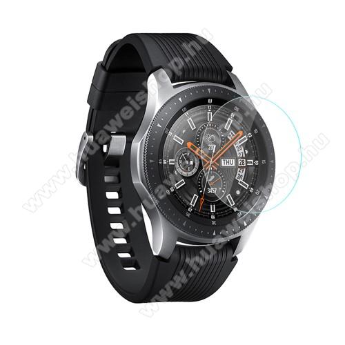 Előlap védő karcálló edzett üveg - 1db - 0.3mm, 9H, A képernyő sík részét védi - SAMSUNG Galaxy Watch 46mm / SAMSUNG Gear S3 Classic / SAMSUNG Gear S3 Frontier