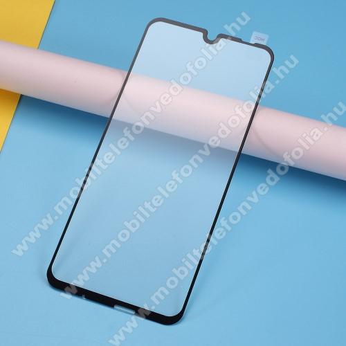 Előlap védő karcálló edzett üveg - 2.5D, Arc Edge, A TELJES KÉPERNYŐT VÉDI! - FEKETE - SAMSUNG Galaxy A10s (SM-A107F)