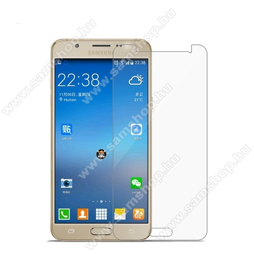 SAMSUNG SM-J510FN Galaxy J5 (2016)Előlap védő karcálló edzett üveg - 9H, 0,3mm - SAMSUNG SM-J510FN GALAXY J5 (2016)